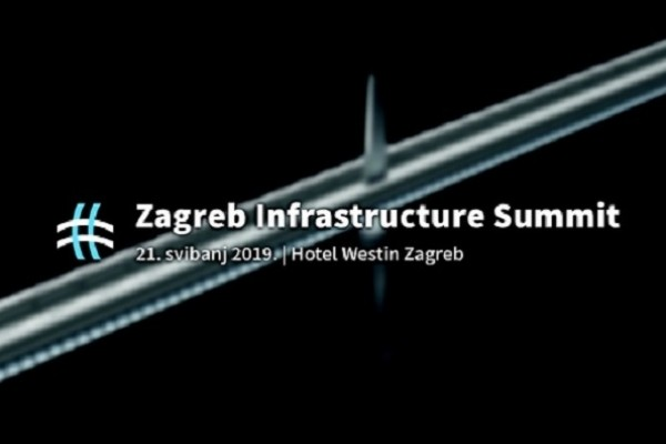 Jiang Yu and Oleg Butković at the Zagreb Infrastructure Summit