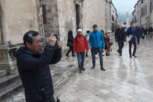 Dubrovnik welcomes more Chinese tourists