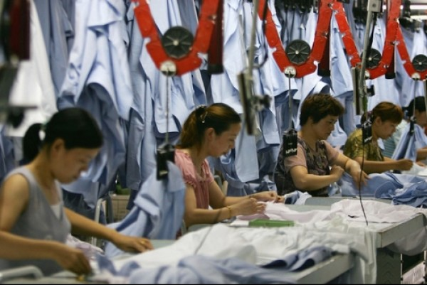 Factory activity in China rises to near decade-high
