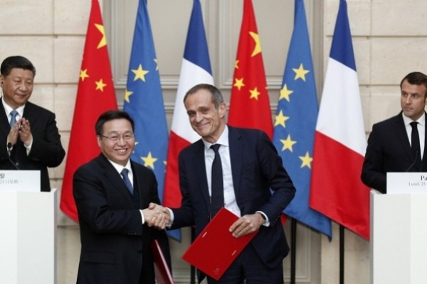 China, France sign US$45 billion of deals including Airbus order