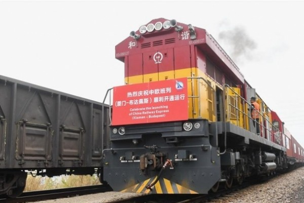 China opens new freight train service to Budapest