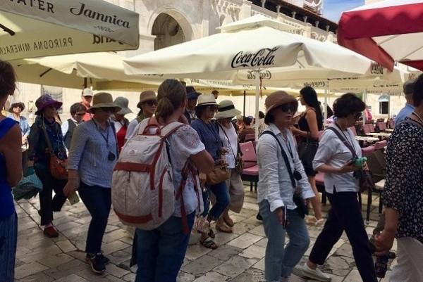 Croatia and Malta are growing in popularity during the golden week break