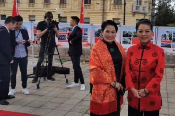 Jiang Yu briefs Chinese Ambassador on her investments in Croatia