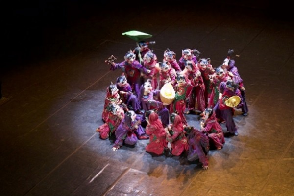 Beijing Dance Academy performed its New Year performance at the Croatian National Theatre