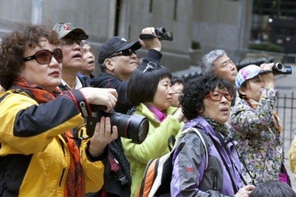One figure shows how much the potential for Croatia is represented by Chinese tourists