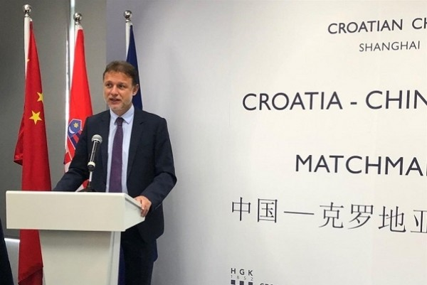 Jandrokovic calls on Croatian and Chinese companies to invest