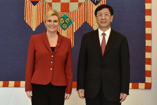 China, Croatia to enhance ties through Belt&Road Initiative