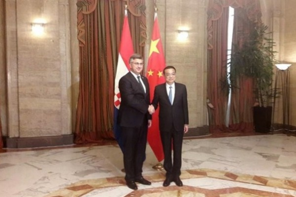China ready to strengthen infrastructure cooperation with Croatia