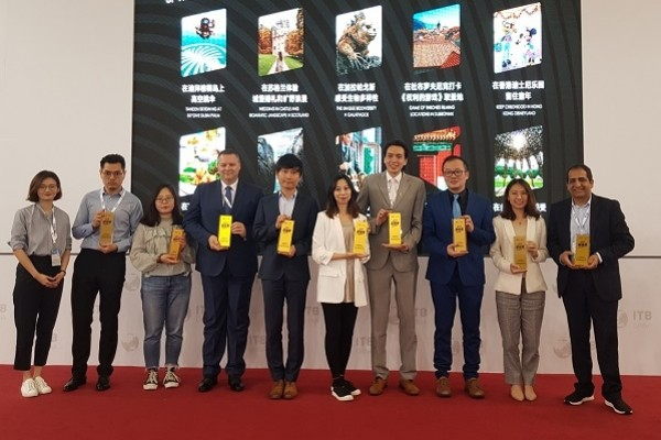 Two awards for Croatian tourism from the ITB China fair in Shanghai