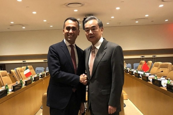China and Italy vow to actively implement MoU on BRI
