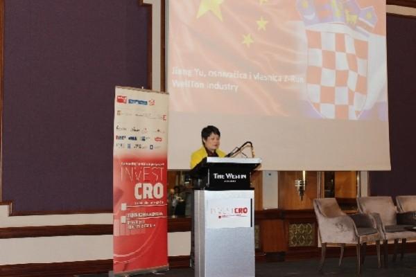 Jiang Yu: Croatia has many unique advantages